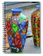 Artwork Large Vase Spiral Notebook
