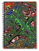Artwork Ovoid Spiral Notebook