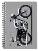 Triumph Bonneville 63 Spiral Notebook
