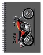 Triumph Hurricane Spiral Notebook