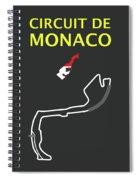 Circuit Of Monaco Spiral Notebook