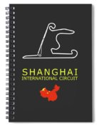 Shanghai Circuit Spiral Notebook