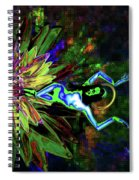 St. Mary Of The Lotus Sta. Maria De El Loto Spiral Notebook