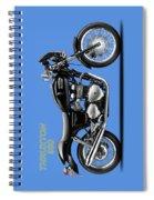 Triumph Thruxton Spiral Notebook