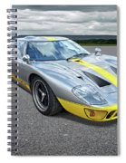 Power And Performance - Ford Gt40 Spiral Notebook