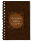 Chocolate Spiral Notebook