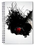 Ghost Warrior Spiral Notebook