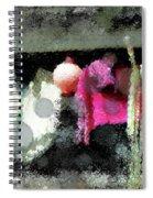 Poncho Porch Spiral Notebook