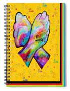 American Sign Language Love Spiral Notebook