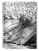 Cold And Broken Spiral Notebook