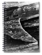 Broken Sheets Of Ice Spiral Notebook