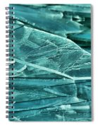 Aqua Ice Spiral Notebook