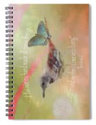 Elements Of Nature - Verse Spiral Notebook