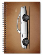 The Aston Martin Db5 Spiral Notebook