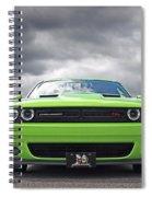 Challenger Scat Pack Spiral Notebook