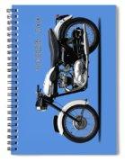 Triumph Tiger 110 1959 Spiral Notebook