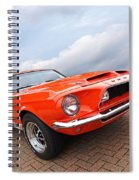 Shelby Gt500kr 1968 Spiral Notebook