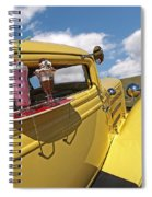 Deuce Coupe At The Drive-in Spiral Notebook