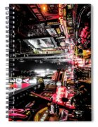 New York City Night II Spiral Notebook
