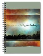 Looking Spiral Notebook