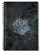 Snowflake Photo - Alcor Spiral Notebook