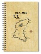 Isle Of Man Tt Spiral Notebook