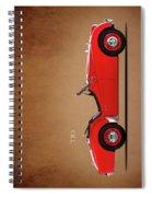 Triumph Tr3a 1959 Spiral Notebook