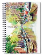 Amsterdam Canal 2 Spiral Notebook