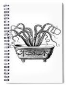 Tentacles In The Tub Spiral Notebook