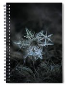Snowflake Of 19 March 2013 Spiral Notebook