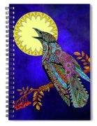 Electric Crow Spiral Notebook