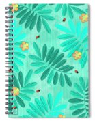 L Is For Lemur And Lark Spiral Notebook