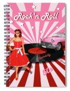 Rock'n Roll The Sweet Fifties Spiral Notebook