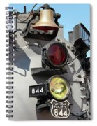 Up 844 Bell And Headlights Spiral Notebook