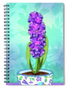 H Is For Hummingbird Spiral Notebook