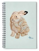 Cuddly Arctic Hare II Spiral Notebook