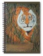 Roaring Tiger James Spiral Notebook