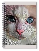 Look Into My Eyes Spiral Notebook