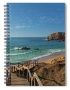 Praia Do Amado, Portugal Spiral Notebook