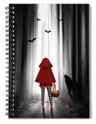 Little Red Riding Hood And The Wolf Spiral Notebook