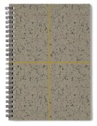 Earthtexturegold Spiral Notebook