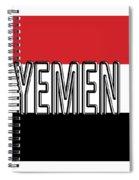 Flag Of The Yemen Word Spiral Notebook