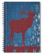 Seasonal Greetings Artwork Spiral Notebook