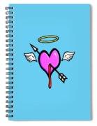 Cupids Heart Spiral Notebook