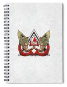 C.d.c.r. Crisis Response Team - C.r.t. Patch Over White Spiral Notebook