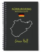 The Nurburgring Nordschleife Spiral Notebook