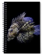 Majestic Lionfish Spiral Notebook