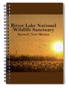 Bitter Lake National Wildlife Refuge Birds, Roswell, New Mexico Spiral Notebook