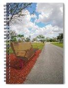 Left Bench Spiral Notebook