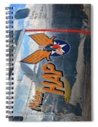 Miss Hap Spiral Notebook